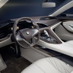 BMW Vision Future Luxury concept dashboard press image