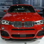 BMW X4 front at the 2014 New York Auto Show