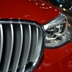 BMW X4 grille at the 2014 New York Auto Show