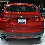 BMW X4 rear at the 2014 New York Auto Show