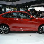 BMW X4 side at the 2014 New York Auto Show