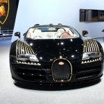 Bugatti Veyron Grand Sport Vitesse Black Bess front