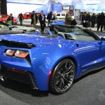 Chevrolet Corvette Z06 Convertible at 2014 New York Auto Show - rear three quarter