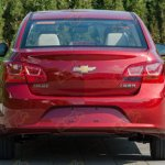 Chevrolet Cruze facelift rear for China front