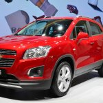 Chevrolt Trax Changku at 2014 Beijing Auto Show - front three quarter left