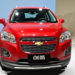 Chevrolt Trax Changku at 2014 Beijing Auto Show - nose