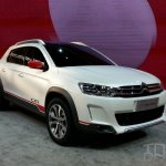 Citroen C-XR Concept front three quarters at Auto China 2014