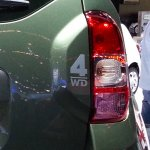 Dacia Duster 4X4 sticker tailgate
