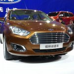 Ford Escort at Auto China 2014