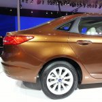 Ford Escort boot at Auto China 2014