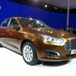 Ford Escort front three quarters at Auto China 2014