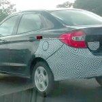 Ford Ka sedan rear three quarter spyshot