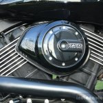 Harley Davidson Street 750 V-Twin engine detail