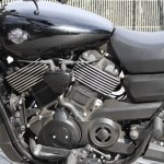 Harley Davidson Street 750 engine section