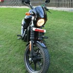 Harley Davidson Street 750 front view