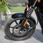 Harley Davidson Street 750 front wheel