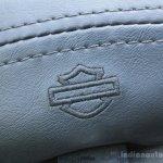Harley Davidson Street 750 logo on seat