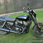 Harley Davidson Street 750 side profile