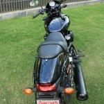 Harley Davidson Street 750 top view