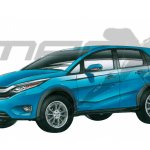 Honda Brio SUV rendering
