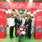 Honda CB Shine 30 lakh units