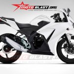 Honda CBR150R rendering side