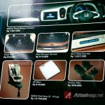 Honda Mobilio Modulo interior accessories