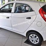 Hyundai Eon 1.0-liter spied rear three quarter