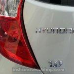 Hyundai Eon 1L IAB spied badge