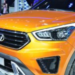 Hyundai ix25 nose at Auto China 2014