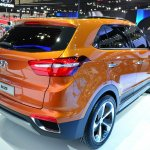 Hyundai ix25 rear three quarters at Auto China 2014