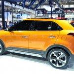 Hyundai ix25 rear three quarters left at Auto China 2014