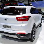 Hyundai ix25 white at Auto China 2014