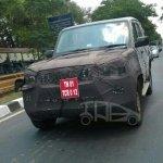 IAB Spied 2014 Mahindra Scorpio facelift front