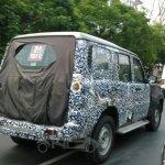 IAB Spied 2014 Mahindra Scorpio facelift