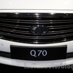 Infiniti Q70 grille at Moscow Motor Show 2014