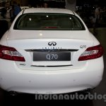 Infiniti Q70 rear at Moscow Motor Show 2014