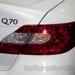 Infiniti Q70 taillight at Moscow Motor Show 2014