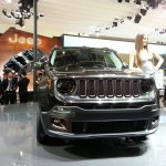 Jeep Renegade Apollo Edition at 2014 Beijing Auto Show - front