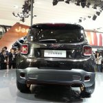Jeep Renegade Apollo Edition at 2014 Beijing Auto Show - rear profile