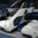Land Rover Discovery Vision concept at 2014 NY auto show interior