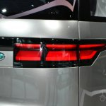 Land Rover Discovery Vision concept at 2014 NY auto show taillight
