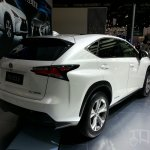 Lexus NX at Auto China 2014 rear three quarters