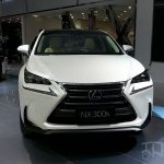 Lexus NX front at Auto China 2014