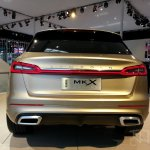 Lincoln MKX Concept rear at Auto China 2014