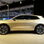 Lincoln MKX Concept side at Auto China 2014