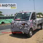Mahindra P601 front three quarter left spyshot