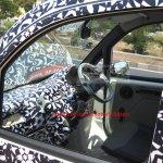 Mahindra P601 interior spyshot