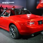 Mazda MX-5 25th Anniversary Edition 2014 NY Auto Show rear quarter