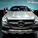 Mercedes-Benz Concept Coupe SUV at 2014 Beijing Auto Show - front